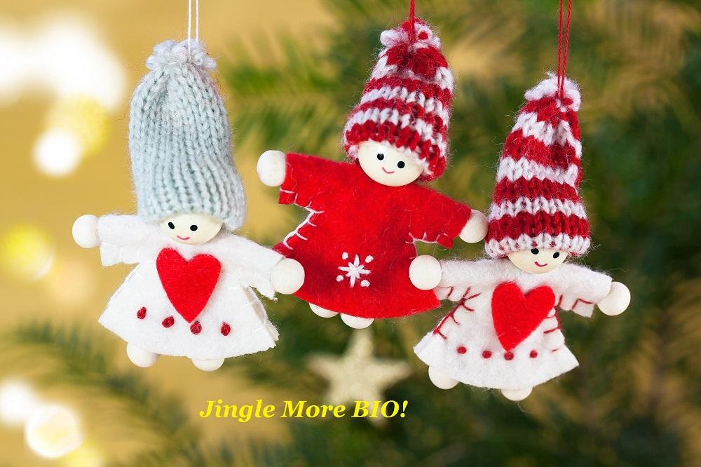 Surpriza noastră de Crăciun: Jingle More BIO!