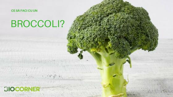 Ce să faci cu un broccoli?