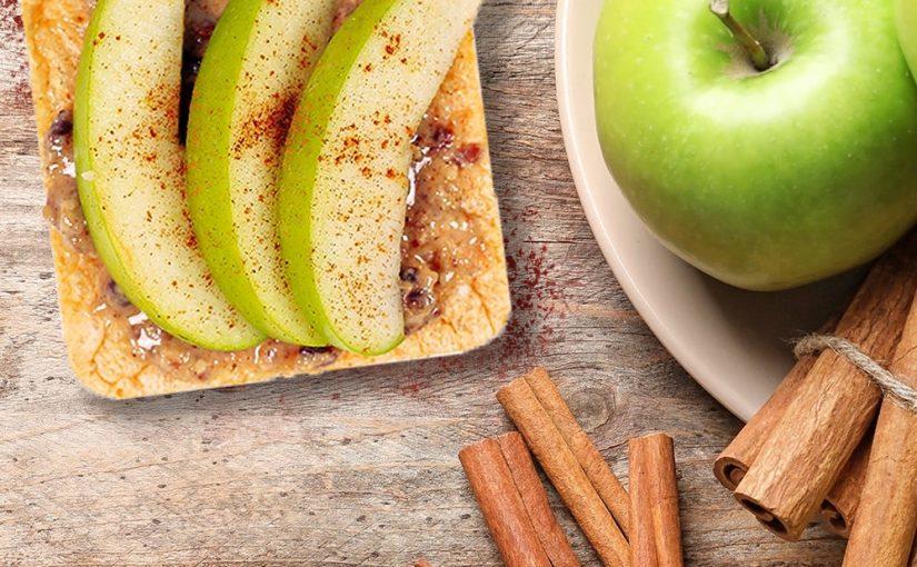 BIOidei: Vafe din năut cu mere
