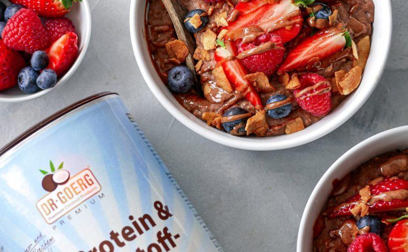 BIOidei: Porridge de ciocolată cu Boost de proteine