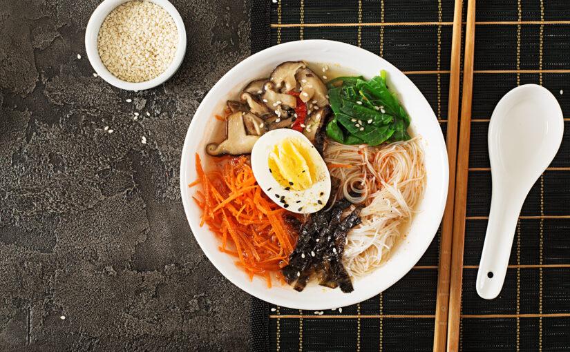 BioIdei: Supă ramen japoneză